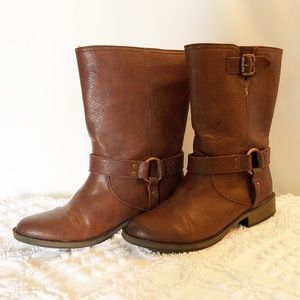 Like New Dr. Scholl's Brown Womens Boots